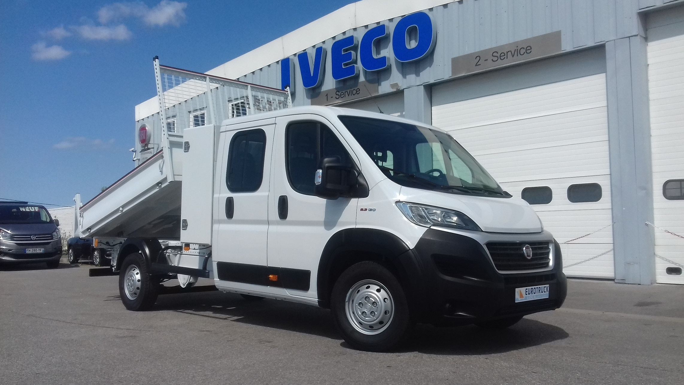 FIAT DUCATO BENNE COFFRE 7 PLACES 2.3L