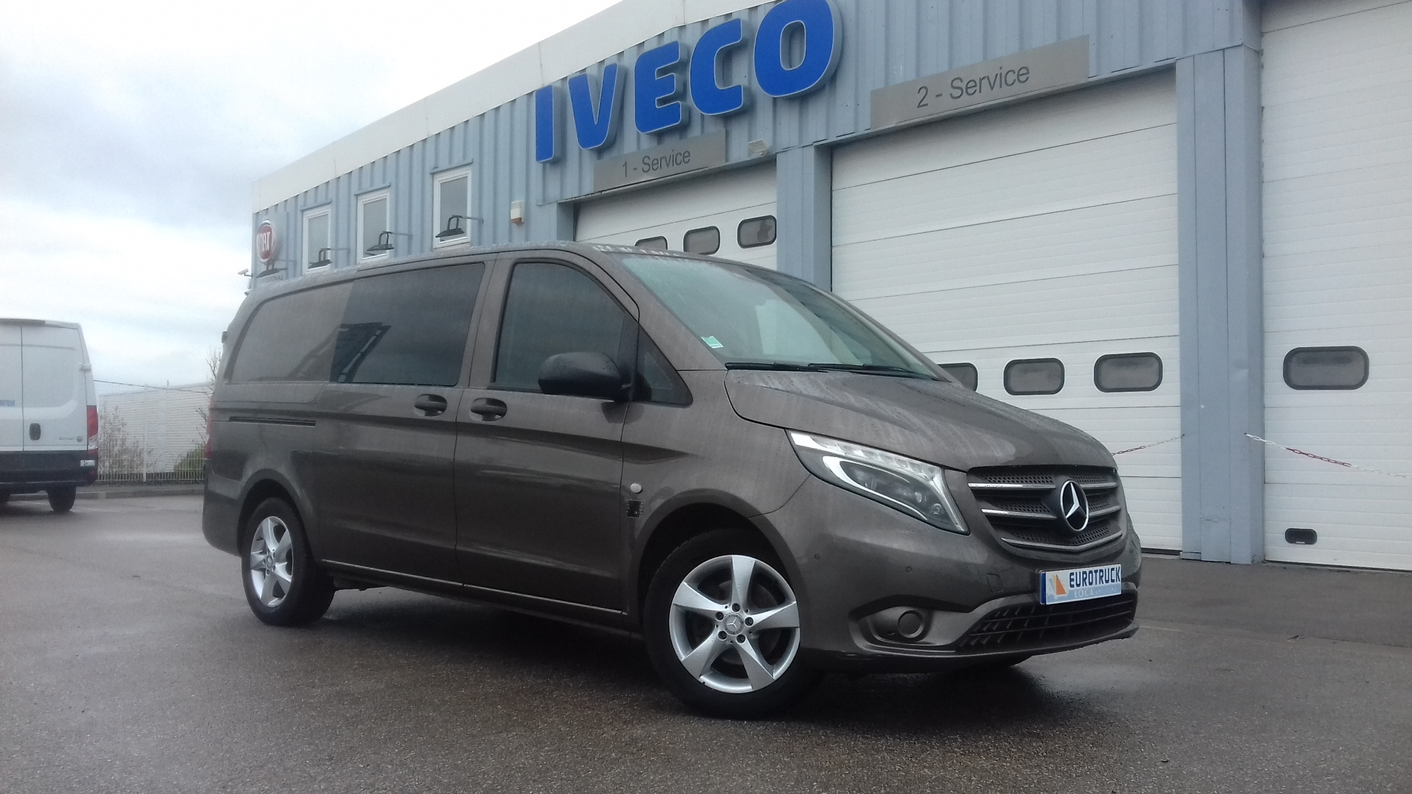 MERCEDES VITO CABINE APPROF LONG 5 PLACES SELECT